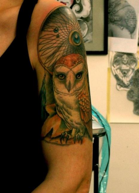 Tattoos Shoulder Sando - TOOL Tattoo & Piercing Shop